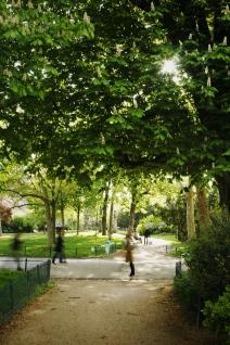Camino interior Monceau-París