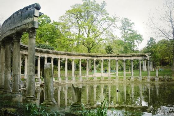 vista ruinas Monceau- Paris